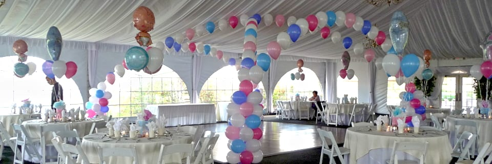732 341 5606 for Baby shower canopy decoration