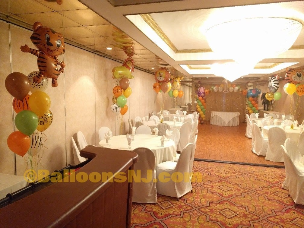 Jungle animal theme balloonsnj
