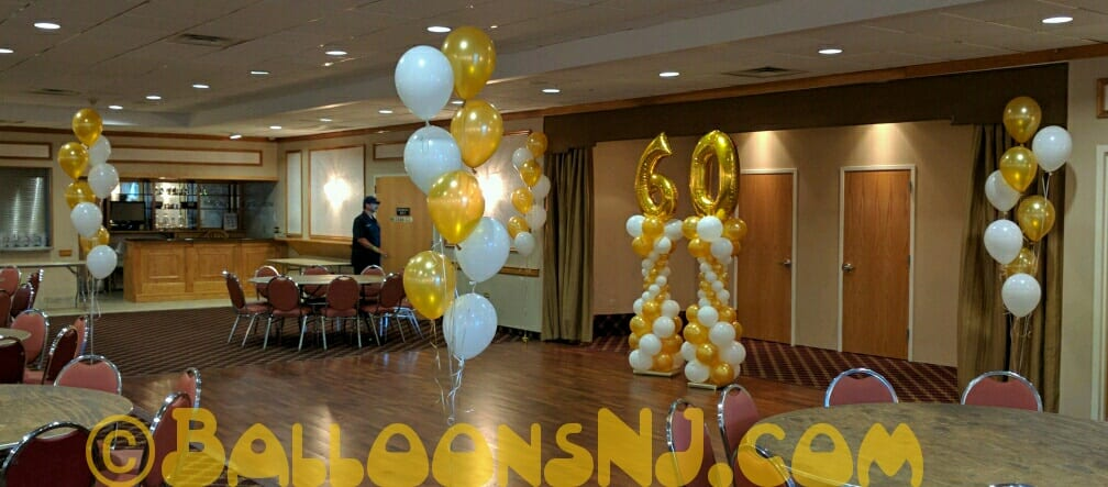 Golden th birthday balloonsnj