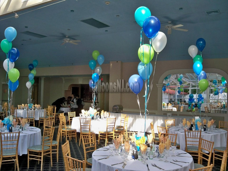 Balloons nj testimonials reviews balloon decorating nj for Balloon cluster decoration